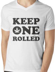 Keep One Rolled Mens V-Neck T-Shirt