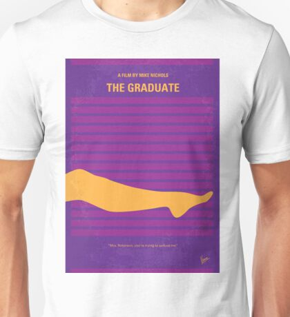 No135 My THE GRADUATE minimal movie poster Unisex T-Shirt