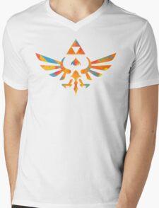 Skyward Sword Paint Orange Mens V-Neck T-Shirt