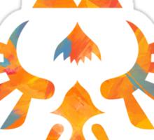 Skyward Sword Paint Orange Sticker