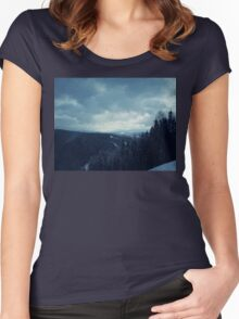 Winter Mounts Women's Fitted Scoop T-Shirt