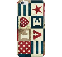 Love America iPhone Case/Skin
