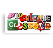 Pop Culture Crossover Canvas Print