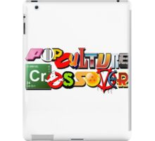 Pop Culture Crossover iPad Case/Skin