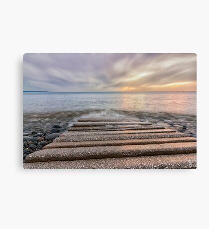 Westward Ho! pebble ridge Canvas Print
