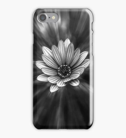 Black & White Flower iPhone Case/Skin