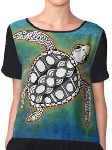 Sacred Sea Turtle 13 Chiffon Top