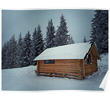 wooden cabin Poster