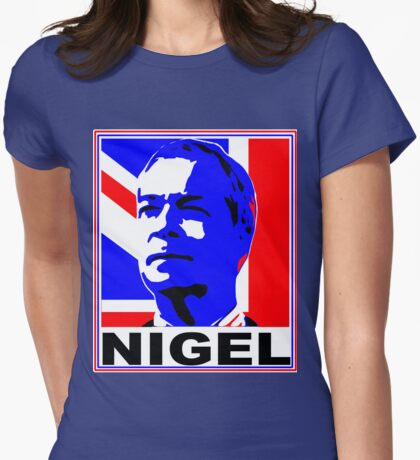 NIGEL Womens Fitted T-Shirt