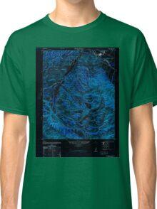 USGS TOPO Map California CA Spreckels 300636 1947 24000 geo Inverted Classic T-Shirt