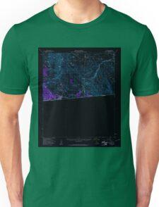 USGS TOPO Map California CA Jacumba 297815 1959 62500 geo Inverted Unisex T-Shirt