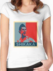 Shikaka - Detective Bat Movie Women's Fitted Scoop T-Shirt