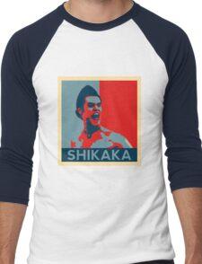 Shikaka - Detective Bat Movie Men's Baseball ¾ T-Shirt