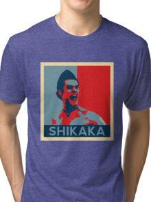 Shikaka - Detective Bat Movie Tri-blend T-Shirt
