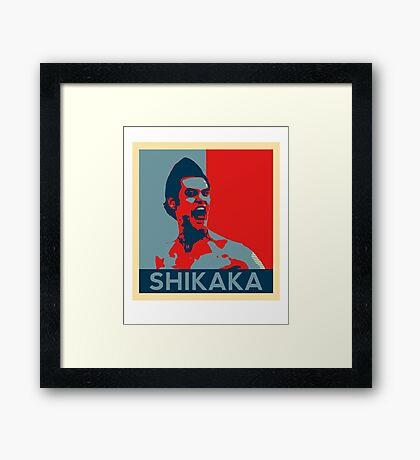 Shikaka - Detective Bat Movie Framed Print