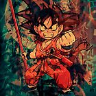 Kid Goku by David Atkinson
