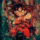 Kid Goku by David Atkinson