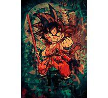 Kid Goku Photographic Print