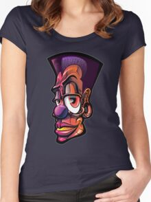 Toonkified Clown Women's Fitted Scoop T-Shirt