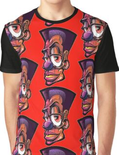Toonkified Clown Graphic T-Shirt