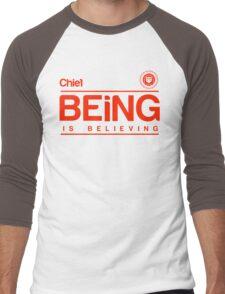 B-I-B - Red Men's Baseball ¾ T-Shirt