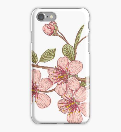 Pink sakura iPhone Case/Skin