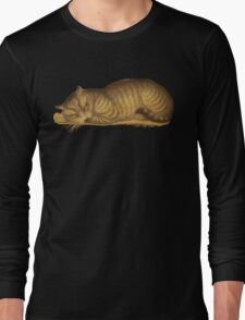 sleepy kitty  Long Sleeve T-Shirt