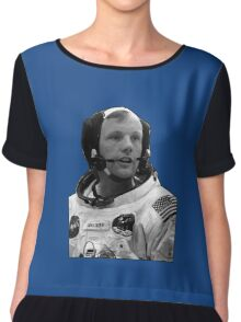Neil Armstrong Chiffon Top