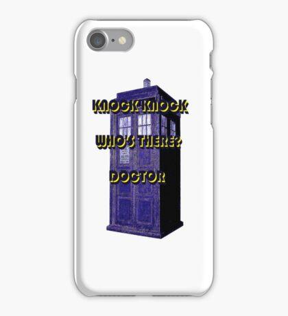 Knock Knock Doctor iPhone Case/Skin