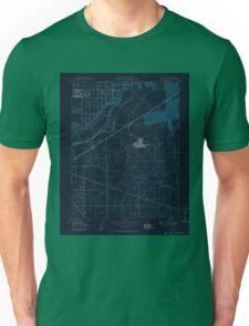 USGS TOPO Map California CA Carmichael 302622 1950 24000 geo Inverted Unisex T-Shirt