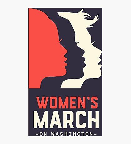 Women's March on Washington Photographic Print
