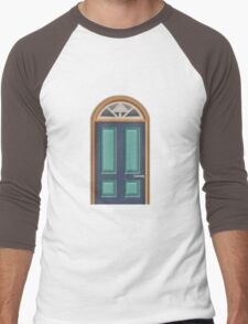 Glitch furniture door orange wooden door T-Shirt