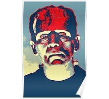 Boris Karloff in The Bride of Frankenstein Poster