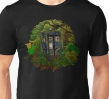Abandoned time and space traveller Blue Phone Box Unisex T-Shirt