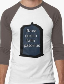 Raxacoricofallapatorius Men's Baseball ¾ T-Shirt