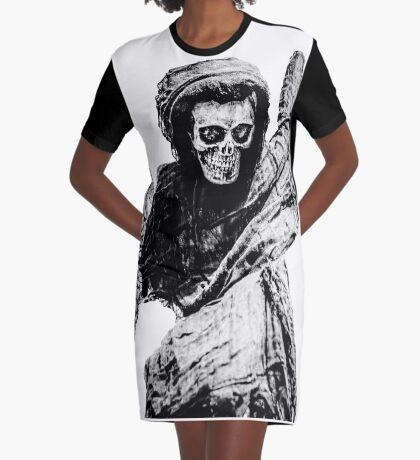 Death Graphic T-Shirt Dress