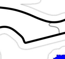 The Sochi Autodrom Sticker
