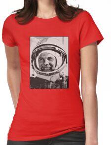 Yuri Gagarin  Womens Fitted T-Shirt