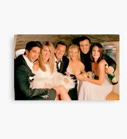 Friends Cast 2 Canvas Print