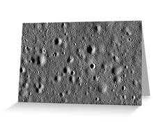 Apollo 11 landing site. Greeting Card