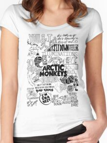 Arctic Monkeys 213 Women's Fitted Scoop T-Shirt