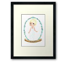 Lunafreya Nox Fleuret - The Oracle Framed Print