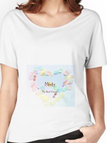 Misty - my best friend Women's Relaxed Fit T-Shirt