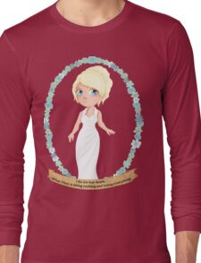 Lunafreya Nox Fleuret - The Oracle Long Sleeve T-Shirt