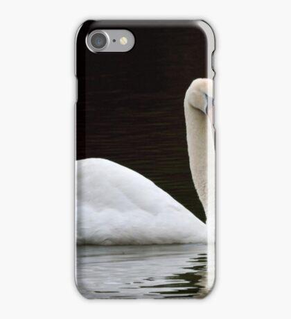 Beautiful white swan  iPhone Case/Skin
