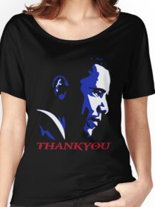 obama's last day obama thankyou  Women's Relaxed Fit T-Shirt