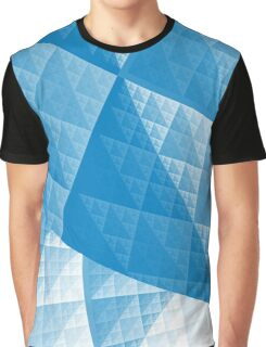 Blue abstract pattern Graphic T-Shirt