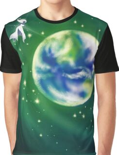 Star above the Earth Graphic T-Shirt