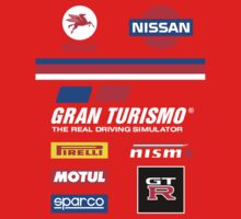 Nissan Retro Racesuit Design Kids Clothes