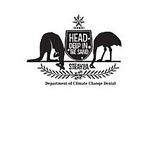 Department of Climate Change Denial Photographic Print